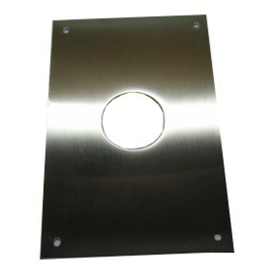 PLACA 6x12 INOX BOC.RED.28mm